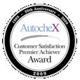 AutocheX Customer Satisfaction Premier Achiever Award 3