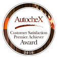 AutocheX Customer Satisfaction Premier Achiever Award 2