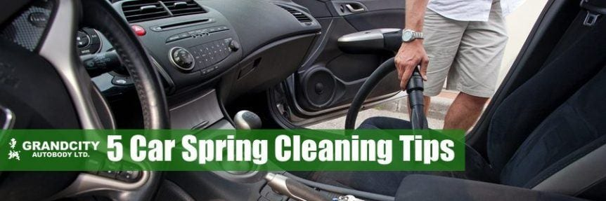 car spring cleaning