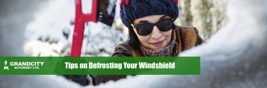 defrosting tips