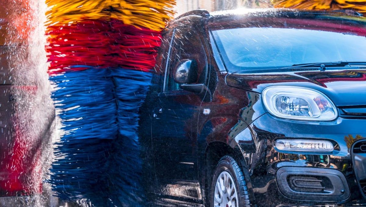 car wash damage paint