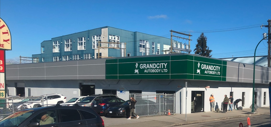 our grandcity auto body shop in vancouver